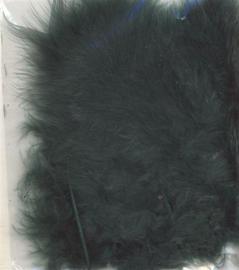 Marabou veren groen 15 ST
