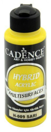 Cadence Hybride acrylverf (semi mat) Geel 01 001 0009 0120 120 ml
