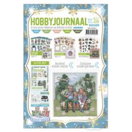 Hobbyjournaal 166  met  Knipvelposter combinatie