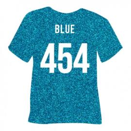 454 Pearl Blauw glitter