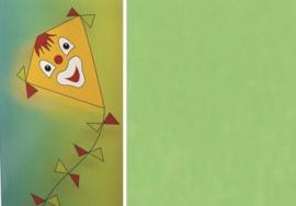 Folia Vliegerpapier lichtgroen 70x100cm 88120-51