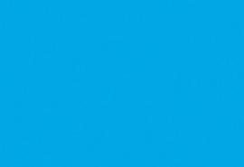 1 vel  Fotokarton azuurblauw 50X70-300G