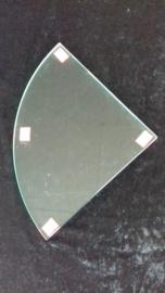 Glasplaat hoek 24,5