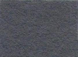 Viltlapje viscose muisgrijs   20x30cm - 1mm   1 vel