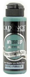 Cadence Hybride acrylverf (semi mat) Firuze 01 001 0093 0120 120 ml