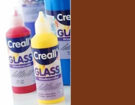 Creall Glass - glasstickerverf donkerbruin 1 FL - 80 ML 20558