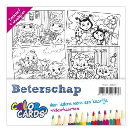 Kleurkaarten Kinderen