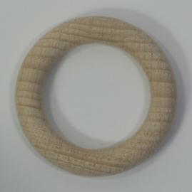 Houten ring beuken blank 56x9mm  Per stuk