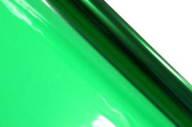 Cellofaan folie kerstgroen 70x500cm