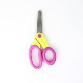 kushgrip kids schaar ( blunt ) Yel / pink