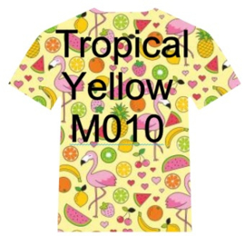 M010  Easy Patterns Tropical Yellow