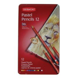 Derwent Pastel Pencil 12 st blik DPP32991