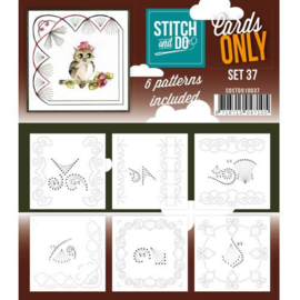 Stitch and Do only cards set 37