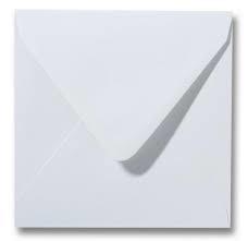 10 enveloppen Wit