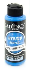 Cadence Hybride acrylverf (semi mat) Konings Blauw 01 001 0037 0120 120 ml