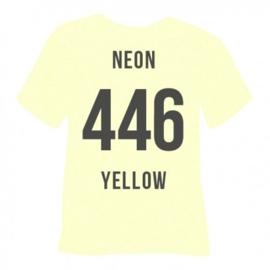446  Yellow Neon Glitter