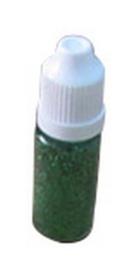 Nellie's Choice flesje ultra fine glitter Kerst Groen GLIT004
