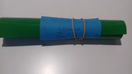 groene statische raamfolie 18,5 cm