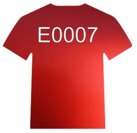 E0007 Electric Red Siser