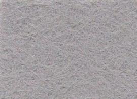 Viltlapje viscose lichtgrijs  20x30cm - 1mm   1 vel