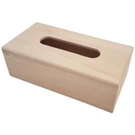 Houten Tissue box