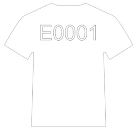 E0001 Electric White Siser