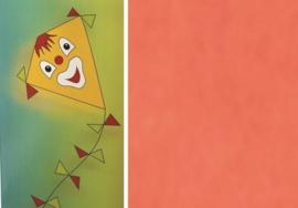 Folia Vliegerpapier oranje 70x100cm 88120-40