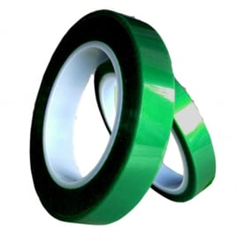Thermotape green  formaat 8 mm. x 66 meter