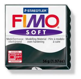 Fimo Soft zwart 57 GR 8020-9