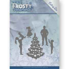 Dies - Jeanine's Art - Frosty Ornaments - Happy Family