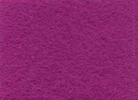 Viltlapje viscose violet  20x30cm - 1mm  1 vel