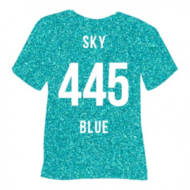 445 Pearl Glitter Sky Blue