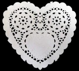 Nellie's Choice Paper frames hart 12 ST 12,7 cm PD008