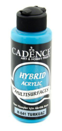 Cadence Hybride acrylverf (semi mat) Turquiose 01 001 0041 0120 120 ml