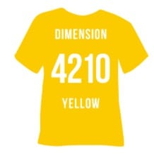 4210 Yellow Dimension