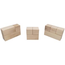 Mijlpaal blokken 5,6 CM - 16,8 CM x 5,6 CM