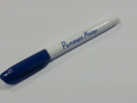 Collall Krimpie Permanent marker - donkerblauw COLPTS03