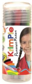 Collall Krimpie Permanent markers assorti 12 kleuren 1 PK COLPTS90