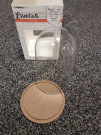 Studio Light plastic stolp mdf basis 11CM X 15,5CM
