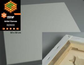 1 ST  Canvasdoek 3D 50x50CM   3,8 cm  420gram