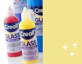 Creall Glass - glasstickerverf glittergoud 1 FL - 80 ML 20574