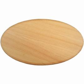 Houten paneeltje ovaal 24,8cm x 14,2cm x 14mm pine