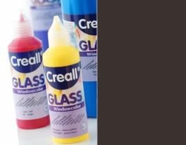 Creall Glass contour -  glasstickerverf zwart 1 FL - 80 ML 20114