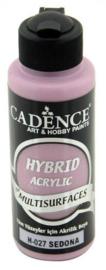 Cadence Hybride acrylverf (semi mat) Sedona bruin 01 001 0027 0120 120 ml