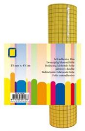 1 RL (15 MTR) Sandy Art®2-zijdig klevend folie (raster) 45 mm