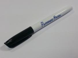 Collall Krimpie Permanent marker - zwart COLPTS63