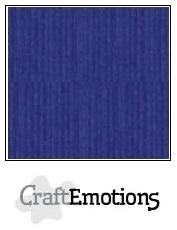 linnenkarton 1 vel saffierblauw LHC-56 A4 250gr
