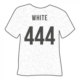 444 White Glitter