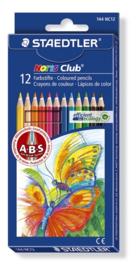 Staedtler Noris Club kleurpotlood - set 12 st. 144 NC12