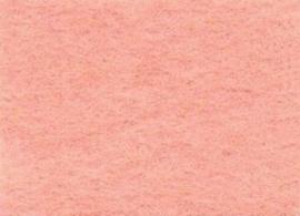 Viltlapje viscose huidkleur  20x30cm - 1mm   1 vel